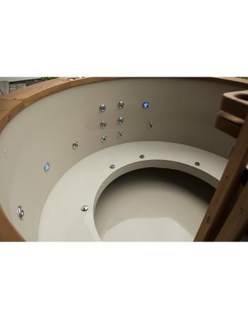 Sitzbänke  aus Kunststoff (offene Bauart)
