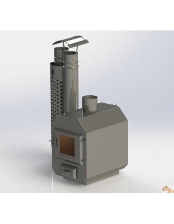 Ārējā nerūsējošā tērauda plīts MK 525